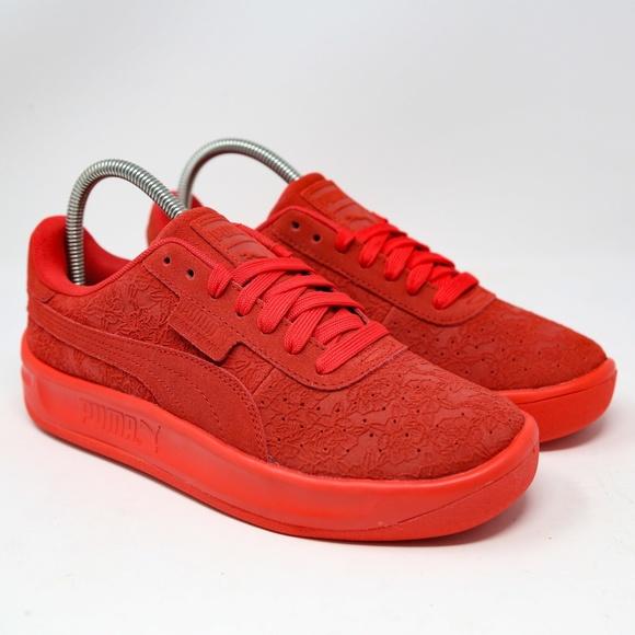máquina de coser contenido captura  Puma Shoes | Puma California Womens Muse 2 Red 372460 Sz 8 | Poshmark